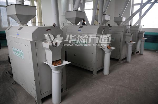 120T/Day Corn Micro Powder Production Line in Russia