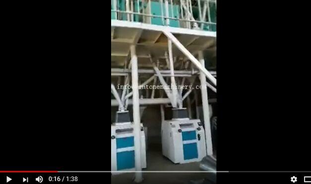 corn grinding mill video