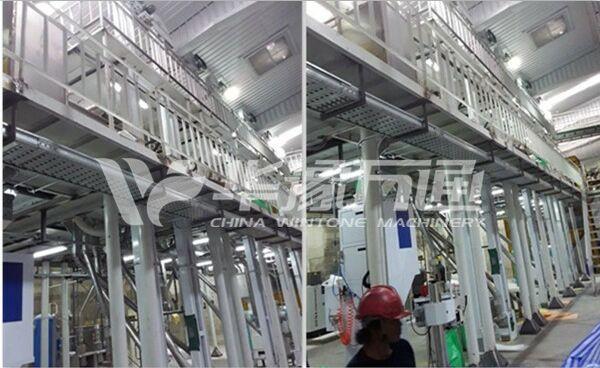 Thailand Mung Bean Peeling Line