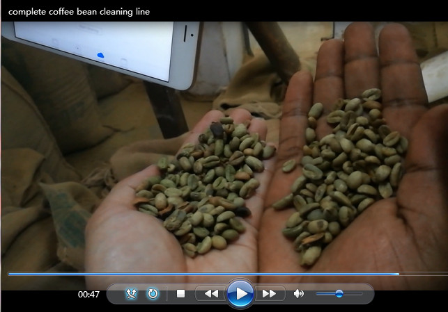 Coffee Beans Cleaning Project ቡና ማጽጃ መልቀሚያ ማሽኖች