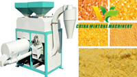 Corn Mill Machine with Small Size and Low Investment