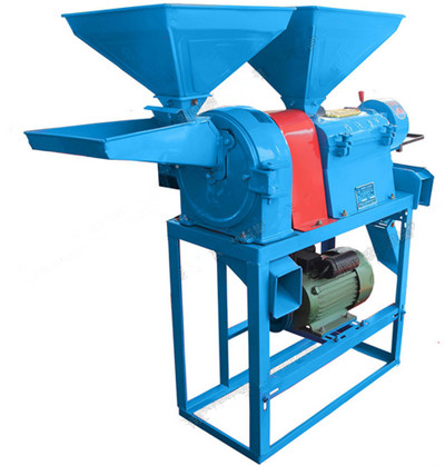 combined corn hulling and grinding machine