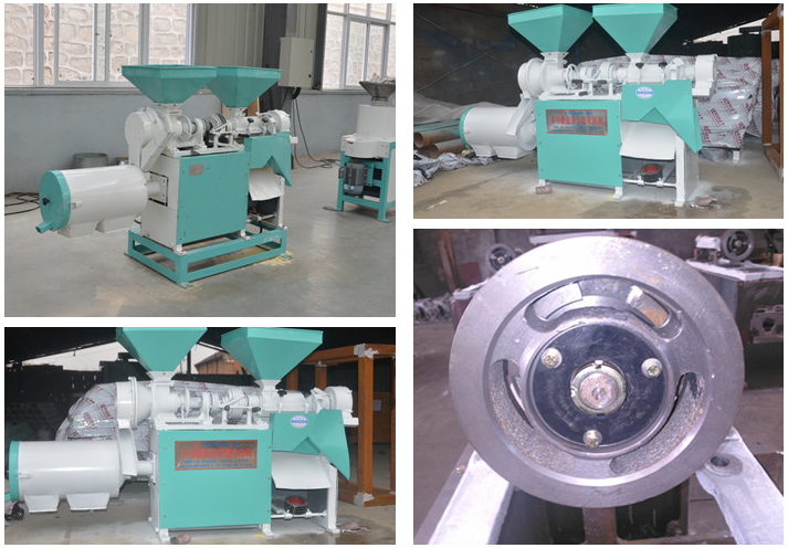 DNM-3B kernel and flour milling machine