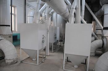 Maize milling plant or corn flour milling plant surge bin