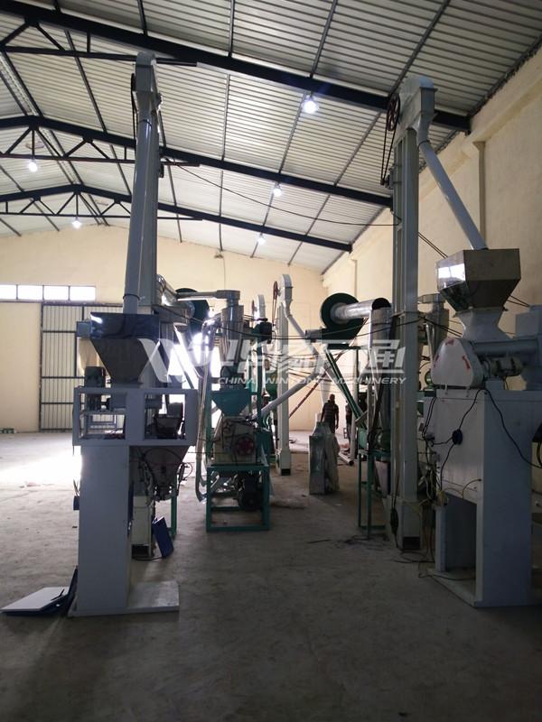 1 ton maize milling equipment