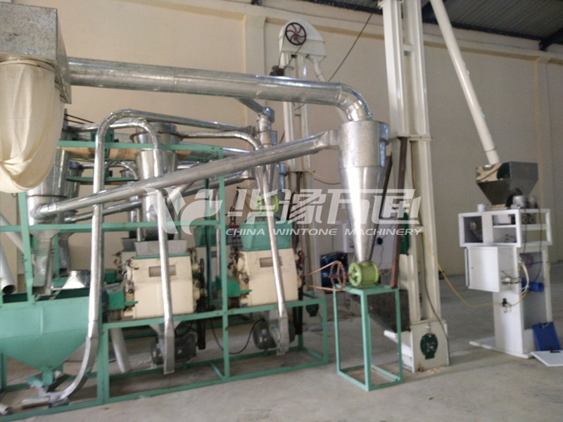 1TPH Maize Milling Equipment