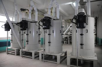 Maize milling plant or corn flour milling plant degerminator